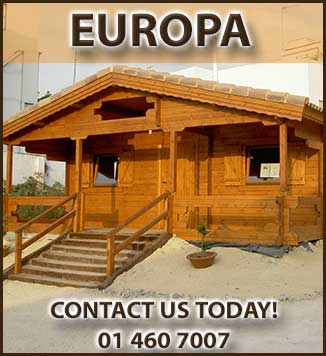 Arlow Timber Houses and Log Cabins Brochure in Dublin and Ireland. We manufacture and fit timber and log cabins in Ireland.