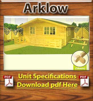 Arlow Timber Houses and Log Cabins Brochure in Dublin and Ireland