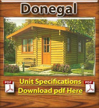Donegal Timber Houses and Log Cabins in Dublin and Ireland Brochure in Dublin and Ireland
