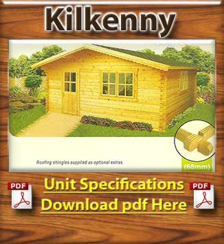 Kilkenny Timber Houses and Log Cabins Brochure in Dublin and Ireland