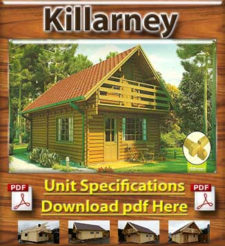 Killarney Timber Houses and Log Cabins in Dublin and Ireland Brochure in Dublin and Ireland