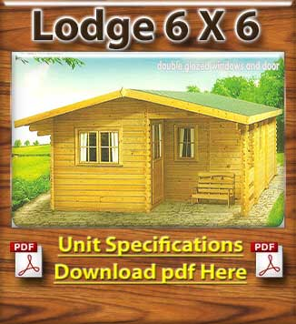 Lodge Timber Cabins and Log Cabins in Dublin and Ireland Brochure in Dublin and Ireland