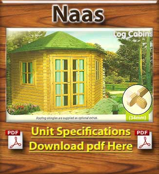 Naas Timber Houses and Log Cabins Brochure in Dublin and Ireland