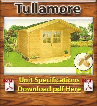 Tullamore Timber Houses and Log Cabins Brochure in Dublin and Ireland