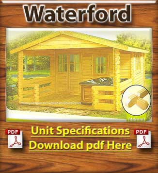 Waterford Tmber House and Log Cabins Brochure in Dublin and Ireland