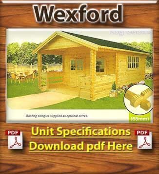 Wexford Timber Houses and Log Cabins Brochure in Dublin and Ireland